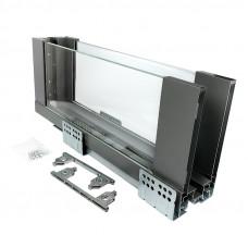 ERGO BOX  графит  L=500 H= 171 Linken System со стеклянными боковинами