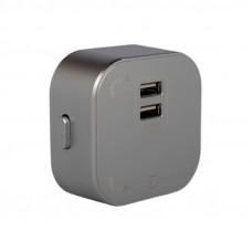 Трековая система: Розетка 2-я USB pandora 2.4А EH-PT-002