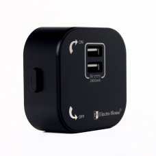 Трековая система: Розетка 2-я USB pandora 2.4А EH-PT-002 Black