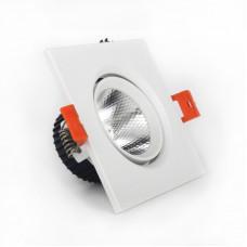 Светильник LED потолочный белый 5W угол поворота 45* 4100К EH-CLM-02