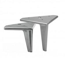 Ножка  SMILE H-145мм, полированный алюминий (нагр 150кг) IPEA