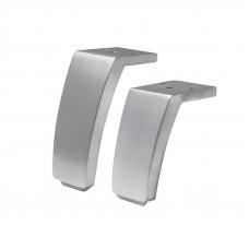 Ножка  WINTER H-105мм, полированный алюминий (нагр 150кг) IPEA