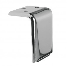 Ножка  9011 H-100мм, полированный алюминий (нагр 150кг) IPEA