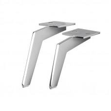 Ножка  LINCE H-120мм, сталь (нагр 150кг) IPEA