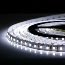 Свет - LED лента SMD 2835, 120 LED, 9W, 12V, холодный белый (915 Lm/m), IP20
