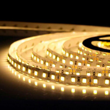 Свет - LED лента SMD 2835, 120 LED, 9W, 12V, теплый белый (915 Lm/m), IP20