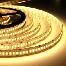 Свет - LED лента SMD 2835, 240 LED, 20W, 12V, теплый белый (2300 Lm/m), IP20