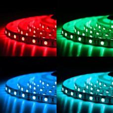 Свет - LED лента SMD 5050, 60 LED, 14,4W, 12V, RGB, IP20