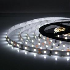 Свет - LED лента SMD 2835, 60 LED, 4.8W, 12V, холодный белый (480  Lm/m), IP20
